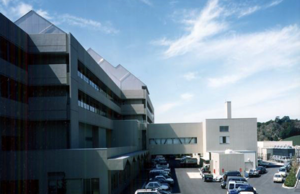 いやしろの住まいの技術の一部が使われた病院