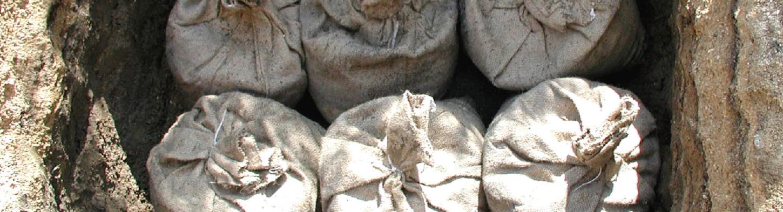 癒しろ炭埋設工法